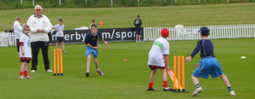 Junior Cricket at County Ground